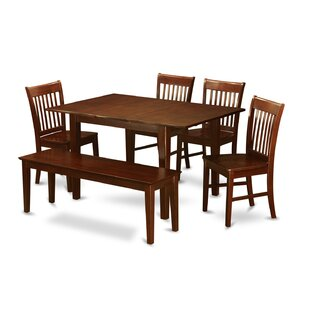Picasso 6 Piece Extendable Dining Set Wooden Importers