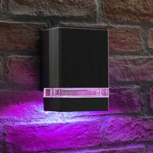 Games LED Outdoor Sconce By Sol 72 Outdoor