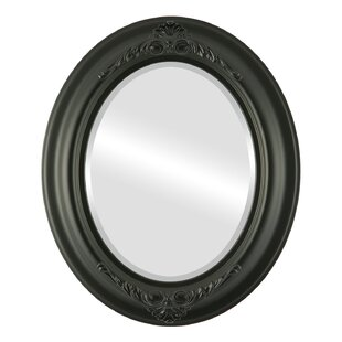 Charlton Home Wokingham Framed Oval Accent Mirror
