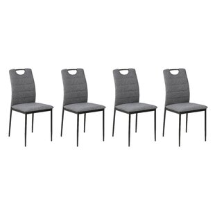 Hallsboro Upholstered Dining Chair (Set Of 4) By Ebern Designs
