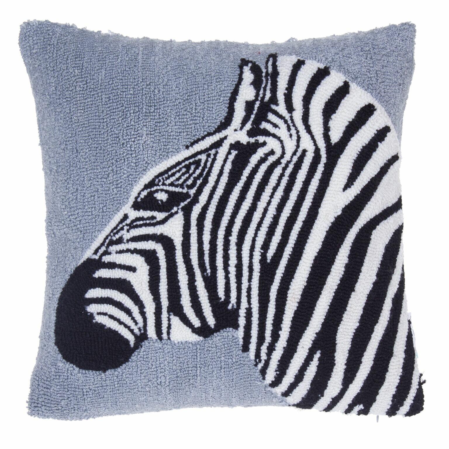 14 Karat Home Inc Safari Zebra Throw Pillow Wayfair