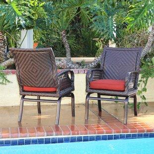 Bayou Breeze Shawny Patio Chair with Cush..