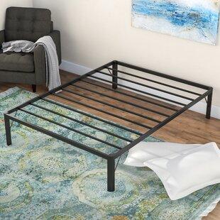 Alwyn Home Dura Metal Steel Slate Bed Frame