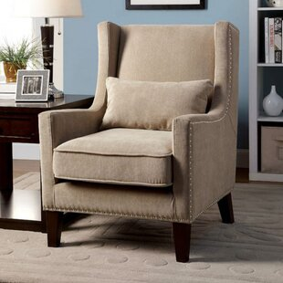 Inexpensive Raymundo Wingback Chair by Red Barrel Studio Reviews (2019) & Buyer's Guide