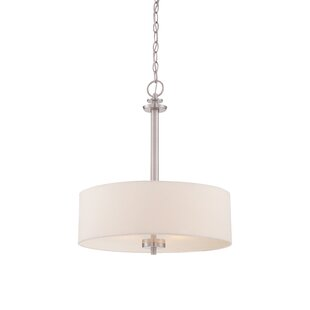 Aspasia 3-Light Drum Chandelier