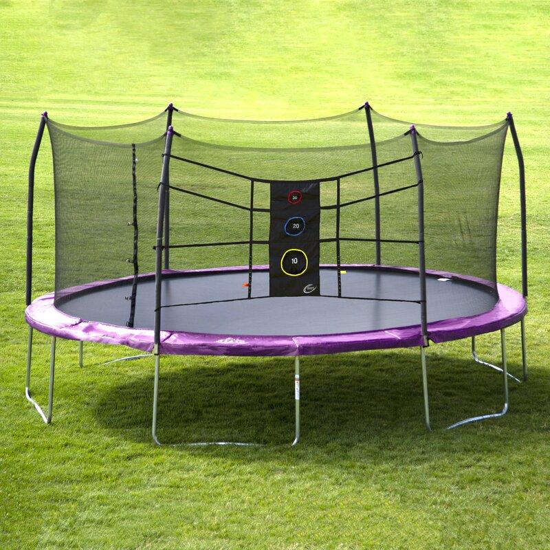 Skywalker 15' Oval Backyard Trampoline with Safety ...