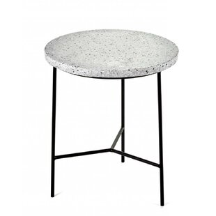 Savings Timmerman Terrazzo End Table by Wrought Studio
