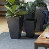 Aldegonde 3-Piece Iron Pot Planter Set