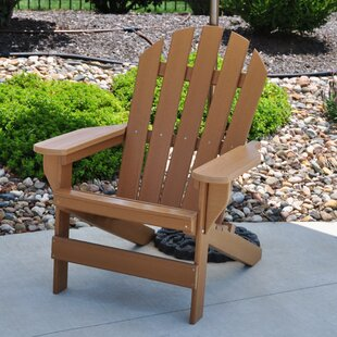 Frog Furnishings Cape Cod Plastic Adirondack Chair