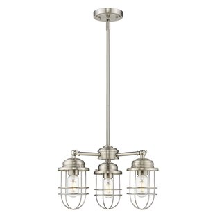Gracie Oaks Kaeden 3-Light Sputnik Chandelier