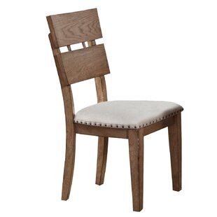 Reviews Plessis Plank Side Chair (Set of 2) by One Allium Way Reviews (2019) & Buyer's Guide