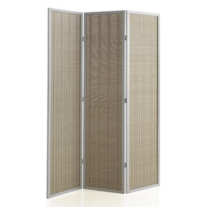 179cm x 130cm Wooden Screen 3 Panel Room Divider