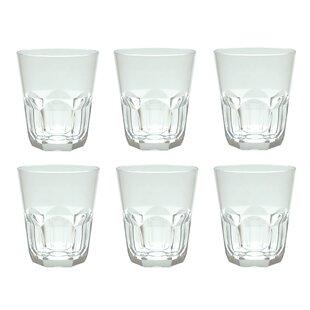 Rosaura 15 oz. Acrylic Whiskey Glass (Set of 6)
