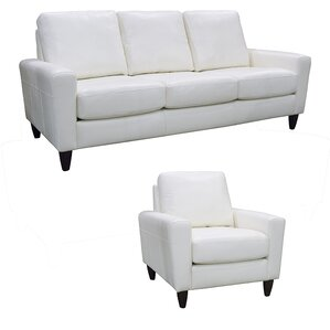 Atlanta Leather 2 Piece Living Room Set by C..
