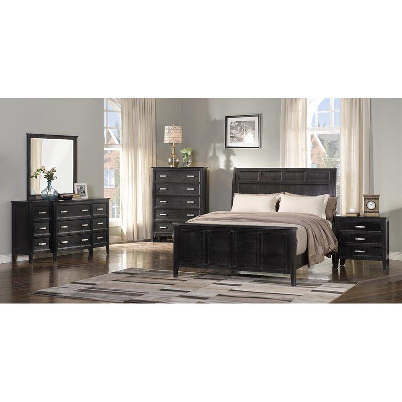 Henryetta Platform 3 Piece Configurable Bedroom Set