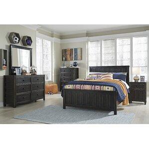 alma panel customizable bedroom set