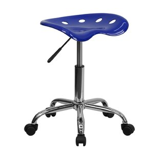 Tractor Height Adjustable Lab Stool by Offex