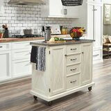 Moravia Kitchen Cart by Laurel Foundry Modern Farmhouse
