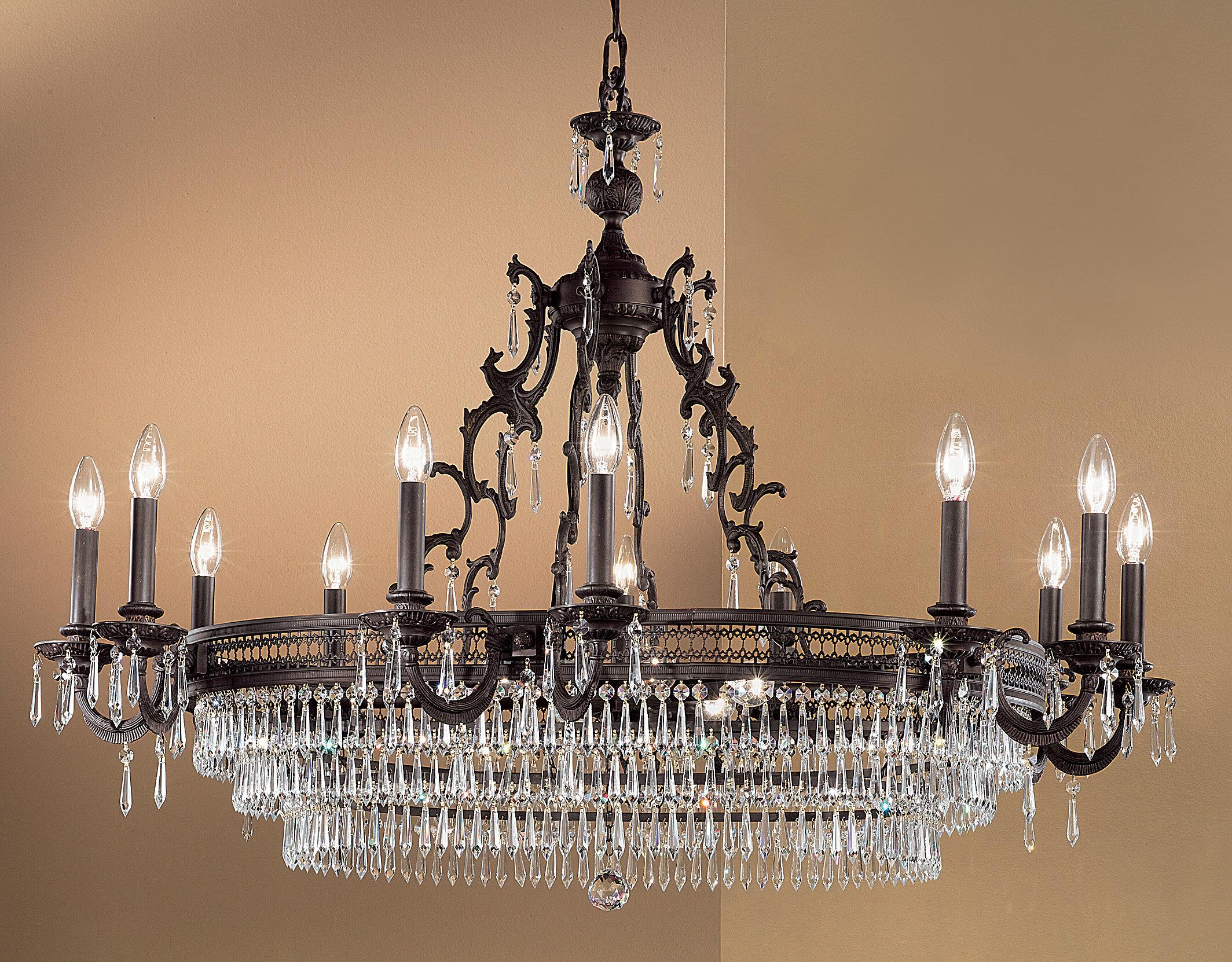 Renaissance 18 Light Candle Style Chandelier