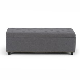 Charlton Home Burrus Tufted Storage Ottoman