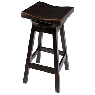 Campton 36 Swivel Bar Stool Loon Peak