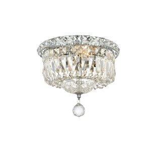 House of Hampton Fulham 4-Light Flush Mount