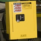 Sure-Grip? 22H x 17W x 8D  1 Door EX Mini Flammable Safety Cabinet by Justrite