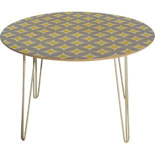 Holli Zollinger Diamond Circles Dining Table Deny Designs