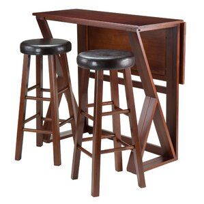 brayan 3 piece pub table set