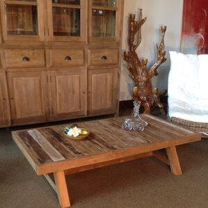 Recycled Teak Coffee Table by Chic Teak