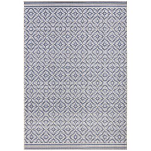 Meadow Woven Blue Rug
