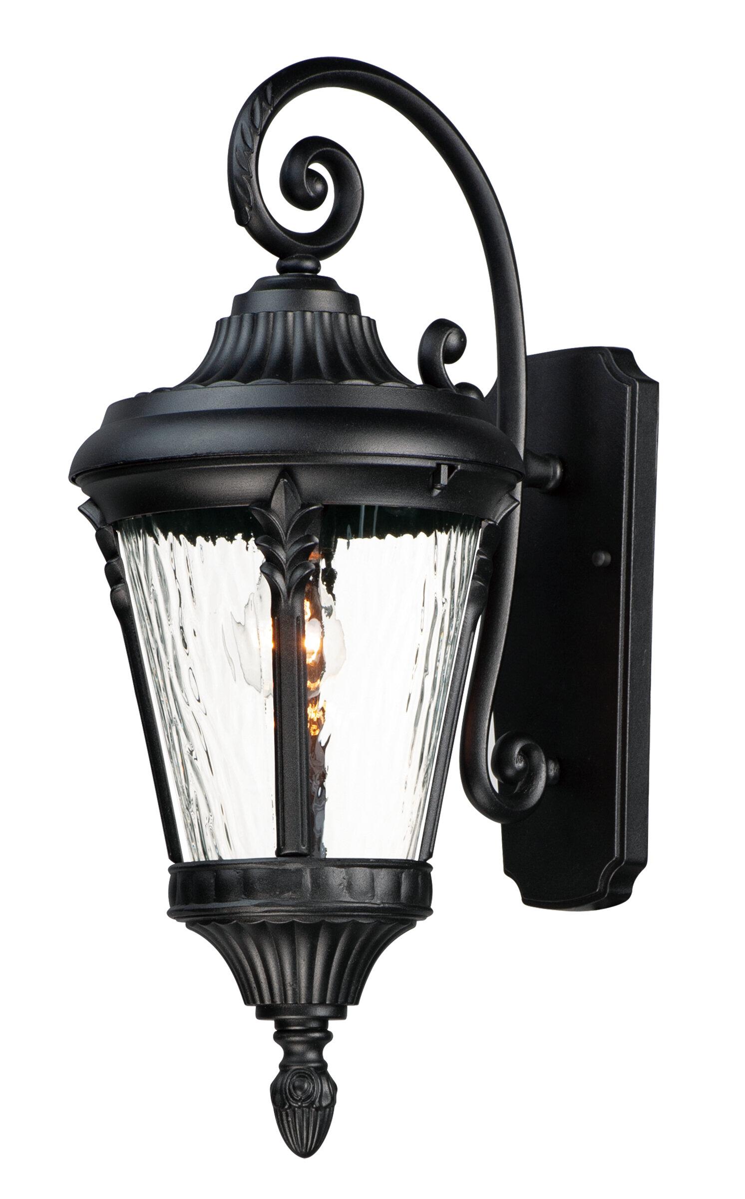 Charlton Home Westfall Outdoor Wall Lantern Reviews Wayfair