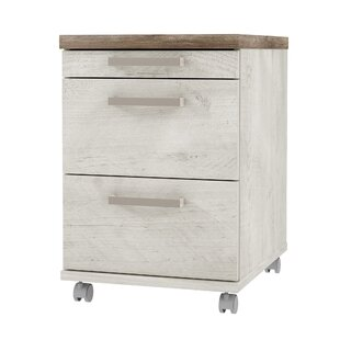 Tan 3 Drawer Filing Cabinet By Ebern Designs