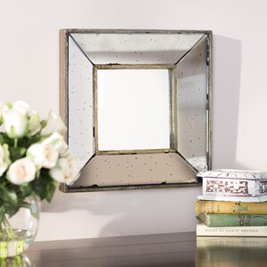 wall mirrors living room. Traditional Square Glass Wall Mirror Mirrors