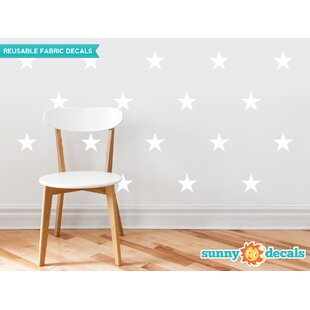 Stars Wall Decal (Set of 30) by Sunny Decals