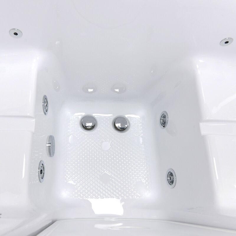 Ella Walk In Bath Tub4Two Hydro and MicroBubble Massage 31.75\