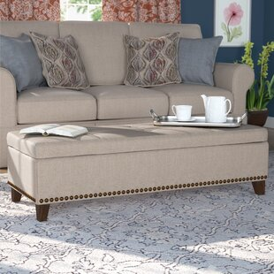 Bluford Upholstered Storage Bench by Alcott Hill