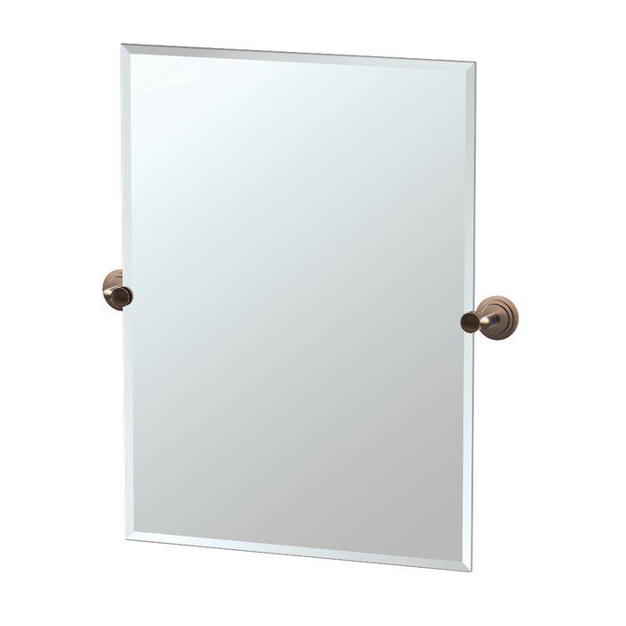 Marina Rectangle Beveled Bathroom Wall Mirror