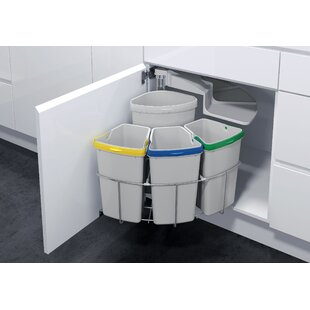 Vauth-Sagel Oeko 4 Piece Pull Out Trash Can
