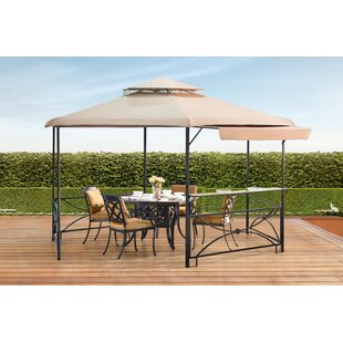 Sunjoy Crawford 11 Ft. W x 13 Ft. D Steel Patio Gazebo