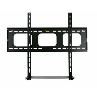 Low Profile Flat Panel TV and Glass Entertainment Center Combo Fixed Wall Mount 32