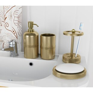 Great choice Wester 4 Piece Bathroom Accessory Set ByWilla Arlo Interiors
