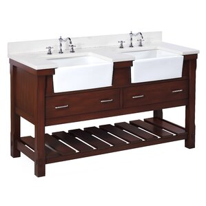 Bathroom Vanity Farmhouse farmhouse bathroom vanities you'll love | wayfair