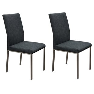Jamiya Upholstered Dining Chair (Set of 2) Orren Ellis