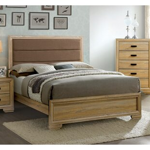 Campbell Upholstered Platform Bed by Union Rustic