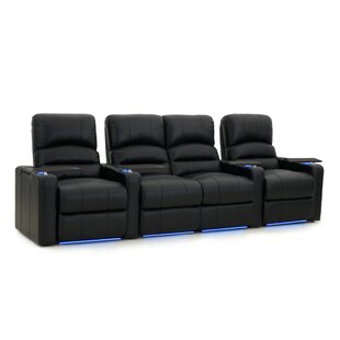 Blue LED Home Theater Row Seating (Row of 4)