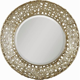 Richardson Round Metal Mirror by Trent Austin Design