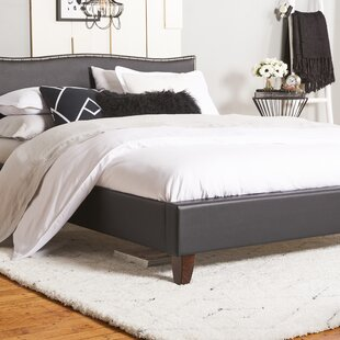 Wooler Upholstered Platform Bed by Wrought Studio Modern