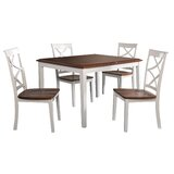 Neihoff 5 Piece Dining Set by Highland Dunes