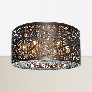 Nicklas 7-Light Flush Mount by Willa Arlo Interiors